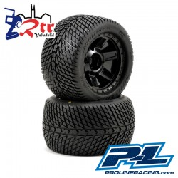 "Ruedas 17mm Monster 1/8 Proline Road Rage 3.8"" Outset 1/2"""