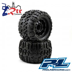 "Ruedas 17mm Monster 1/8 Proline Trencher 3.8"" Outset 1/2"