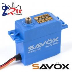 Servo Savox SW-0231MG Digital High Voltage Piñoneria Metalica