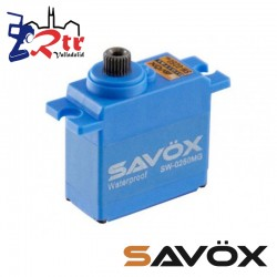 Servo Savox 5Kg SW-0250MG Digital High Voltage Piñoneria Metálica