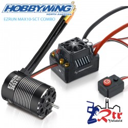 Hobbywing Ezrun MAX10 Combo 4000kV Sin Sensores