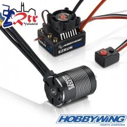 Hobbywing Ezrun MAX10 3652SL Combo 4000kV Sin Sensores
