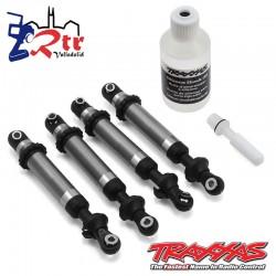 Amortiguadores GTS Aluminio Plata TRX-4 Traxxas TRA8160