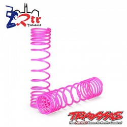 Resortes amortiguadores Traseros Rosados TRX2457P