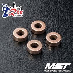 Rodamiento MST 5x10x4mm (4 piezas) MST120021