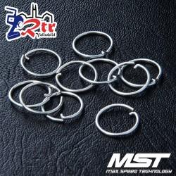 Anillo de retención MST 9mm (10 piezas) MST110069