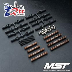 Juego de Tirantes MST fabricado en aluminio 242mm CMX MST210537BN