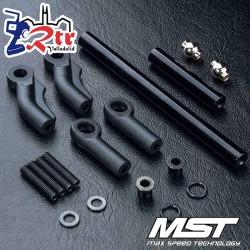 Conjunto varillaje dirección aluminio negro CMX/CFX MST210566BK