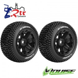Ruedas 17mm Monster Truggy Louise ST-Viper Pegadas Rellena