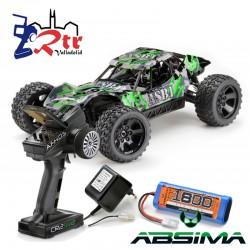 Absima Sand Buggy 1/10 4x4 ASB1 Escobillas RTR