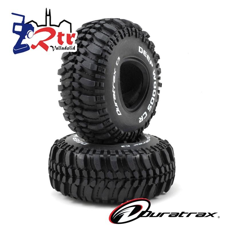 "Ruedas 1/10 Crawler 1.9"" Duratrax Deep Woods CR C3"