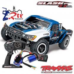 Traxxas Slash VXL Brushless Chasis Alto TSM 4x4 RTR