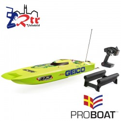 "Proboat Miss Geico Zelos 36"" Twin Brushless Catamaran"