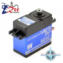 Servo Etronix 30.3 Kg 0.09 Seg Waterproft  Piñoneria Metálica