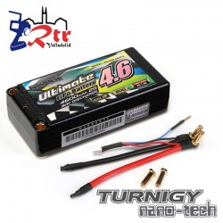 Lipo Turnigy 2s 4600Mha 90C Ultimate Shorty