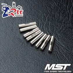 Pasadores de Eje MST 2x9.8mm MST110046