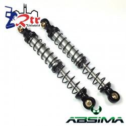 Amortiguadores Absima 115mm  Aluminio