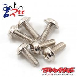 Tornillos de motor 3*8mm (estrella) TRA3185