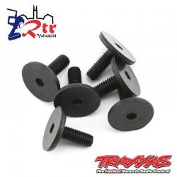 Tornillos Cabeza Plana 3*8mm (Hexagonales) TRA3931
