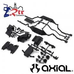 Riel inferior, placa de deslizamiento, bandeja de batería AXI231001