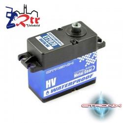 Servo Waterproft 21,8Kg 0,16Seg Etronix Piñoneria Metálica