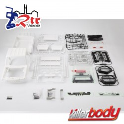 Killerbody Toyota Land Cruiser 70 1/10 Para TRX-4 323MM Carcasa dura