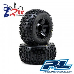 Ruedas 17mm Monster 1/8 Proline Badlands 3.8""