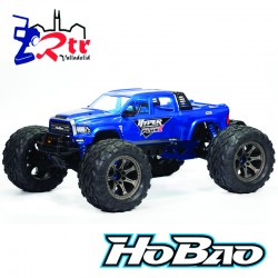 Hobao Hyper MT Plus II Monster Truck 1/7 150A 6s RT Azul