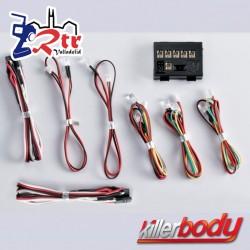 KillerBody Juego de luces LED con 8 LED Caja controladora
