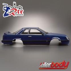 Carrocería Nissan Skyline R31 1/10 Pintada 195mm Azul