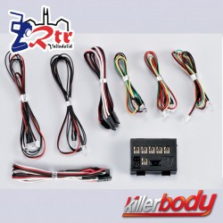 KillerBody Juego de luces LED con 10 LED Caja controladora