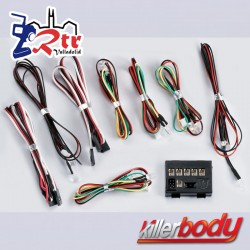 KillerBody Juego de luces LED con 12 LED Caja controladora