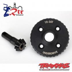 Corona y Piñon Diferencial 10/35T TRX-4 Traxxas TRA8288