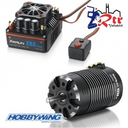 Hobbywing Xerun XR8 Plus Combo mit 4268-2600kV for 1:8 On Road