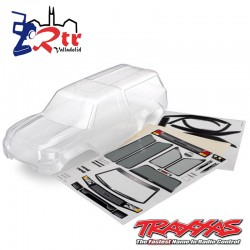 Carrocería Traxxas TRX-4 Sport Camper Transparente TRX8112