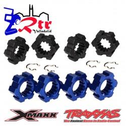 Hexagonos 20mm Traxxas X-Maxx TRA7756, TRA7756X Azul