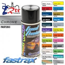 Pintura Fastrax Lexan Cromado  con aditivo anti Nitro 150Ml