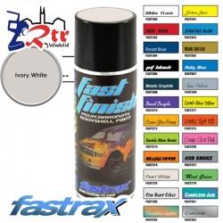 Pintura Fastrax Lexan Marfil Blanco con aditivo anti Nitro 400Ml