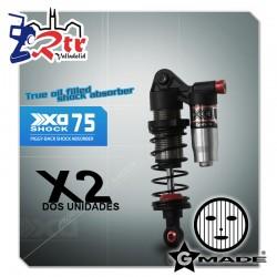 Gmade XD Piggyback Amortiguadores GM21307 75mm 2 Unidades