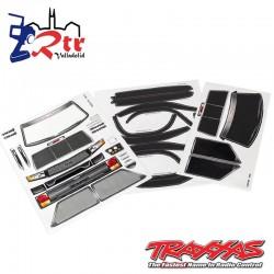 Hoja de pegatinas Traxxas TRX-4 Sport TRA8113