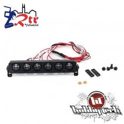 HobbyTech Luces LED Redondos aluminio 127 mm