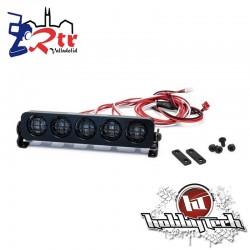 HobbyTech Luces LED Redondos aluminio 109 mm