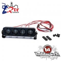 HobbyTech Luces LED Redondos aluminio 90 mm