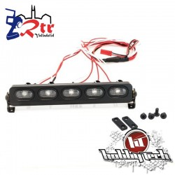 HobbyTech Luces LED Ovalados aluminio 128 mm