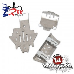 Placas de Protección de acero Inoxidable Traxxas TRX-4