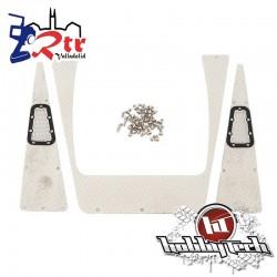 Placas decorativas metal Traxxas Defender TRX-4