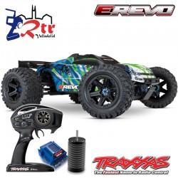Traxxas E-Revo VXL 2.0 Brushless 6s TSM 1/10 Monster Truck Truggy Verde