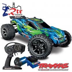 Traxxas Rustler VXL 4x4 Brushless TSM Truggy Verde RTR
