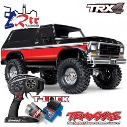 Traxxas TRX-4 4wd 1/10 Crawler Ford Bronco Roja