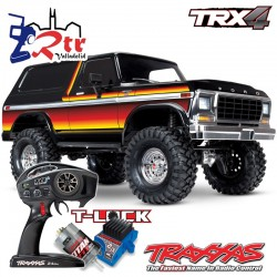 Traxxas TRX-4 4wd 1/10 Crawler Ford Bronco Naranja